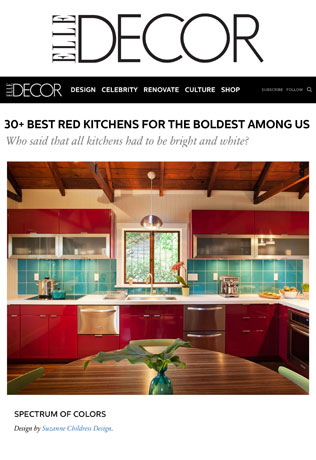Suzanne Childress Design Elle Decor 30 Best Kitchens
